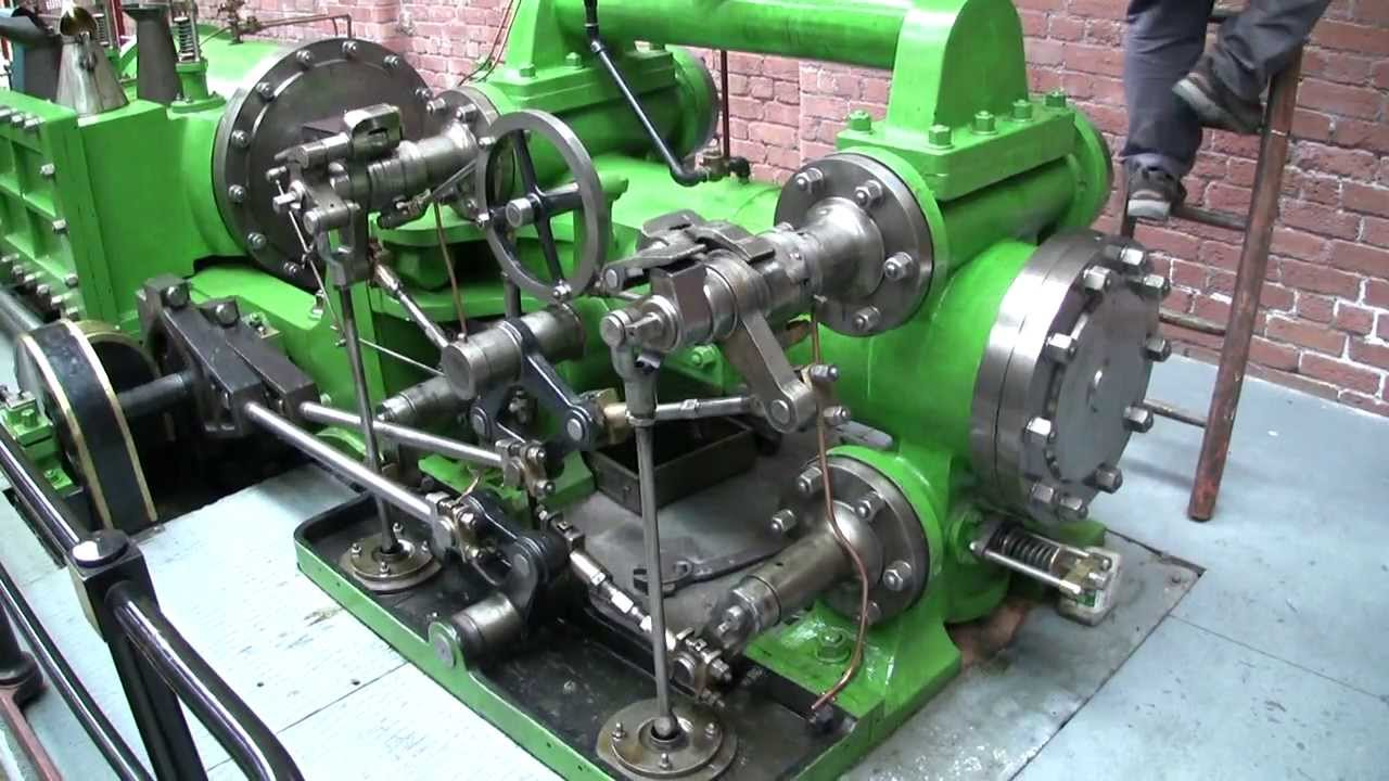 The Wasp Mill Corliss Tandem Steam Engine At Bolton