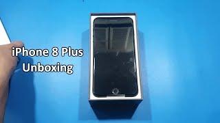 iPhone 8 Plus Unboxing & Hands On | Space Grey {Urdu/Hindi}