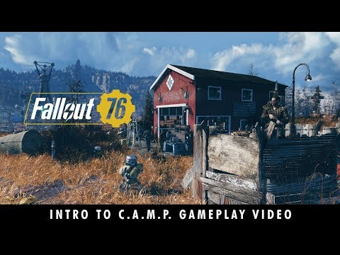 C.A.M.P. trailer for 'Fallout 76' will make you want to call the apocalypse home