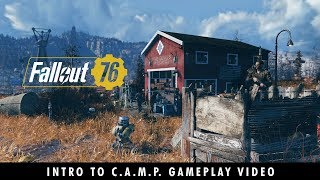 Baixar Fallout 76 – A New American Dream! An Intro to C.A.M.P. Gameplay Video