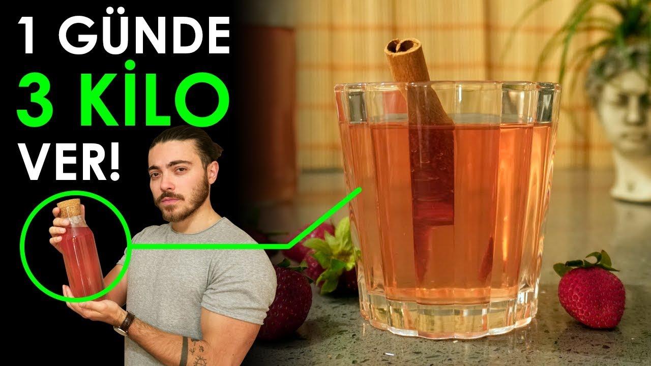 1 Günde ZAYIFLATAN Soğuk Çay - 3 Kilo Ver! (%100 Doğal)