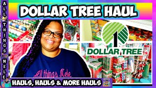 #340 Dollar Tree Haul | Dollar Tree Christmas 2019 | New finds | All Things Nele