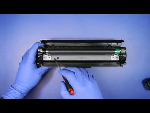 HOW TO REFILL HP C4096A 96A Toner LaserJet 2100 2200 2200dt 2200dn