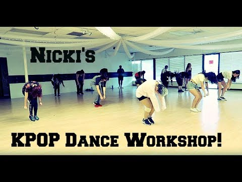 Nicki's 1st KPOP Dance Workshop!