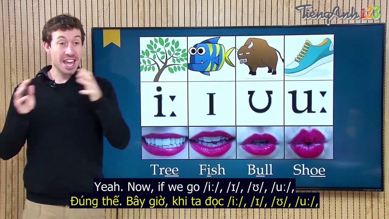 Học phát âm tiếng Anh với thầy Daniel  – Bài 1- Cách phát âm nguyên âm đơn trong tiếng Anh
