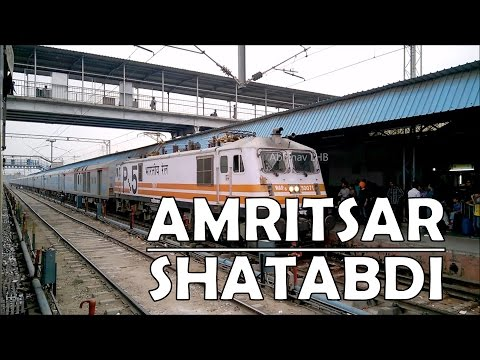 Ludhiana Jn: 12014 Amritsar - New Delhi SHATABDI EXPRESS with GZB WAP5 #30071