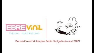 """Gambar cover Decoración con Vinilos para Bebés """"Amiguito de cuna"""" 02877"""