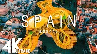 SPAIN 4K  Música relajante junto con hermosos videos de la naturaleza 4K Video Ultra HD
