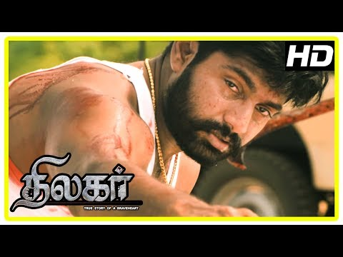 Thumbnail: Thilagar Movie Climax | Dhruvva gets killed by Poo Ram's goon | End Credits