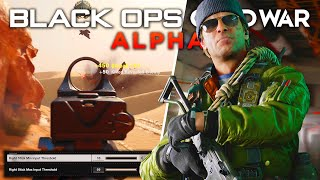 The SECRET ALPHA SETTINGS & Big Things To Know... (Black Ops Cold War)