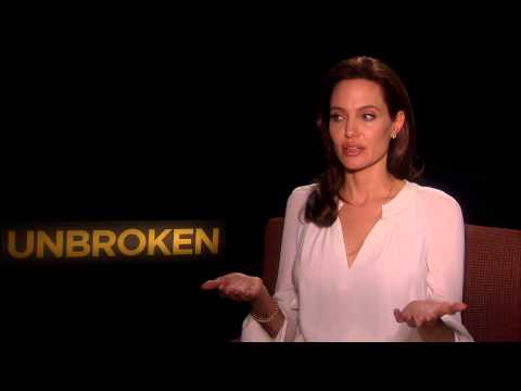 Angelina Jolie On Unbroken Film