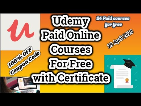 24-paid-online-courses-for-free-i-udemy-free-courses-with-certificate-i-29-april-2020