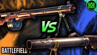 Battlefield 1: HUOT AUTOMATIC VS LEWIS GUN 🔥 In-Depth Guns Comparison | BF1 Weapons Showdown