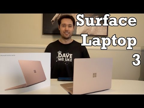 Microsoft Surface Laptop 3 Unboxing Setup Review Black Friday WiFi 6 Speed Test Surface Studio 2