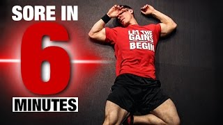 Fast, Brutal Leg Workout (SORE IN 6 MINUTES!!)