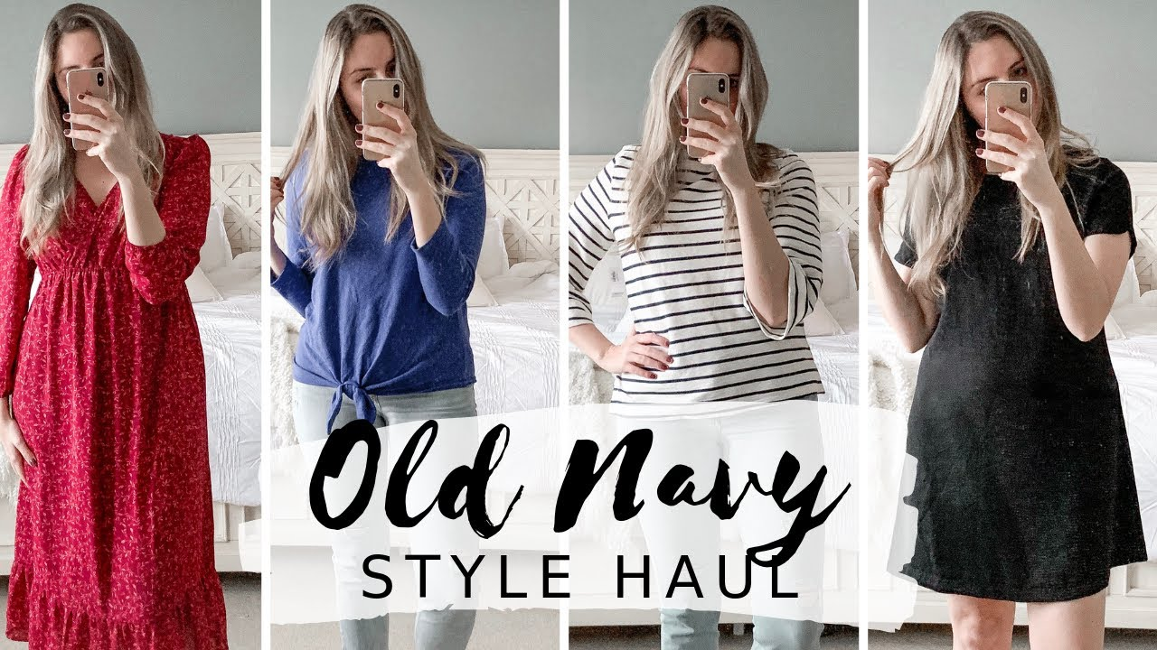[VIDEO] - OLD NAVY HAUL TRY-ON | SPRING STYLE HAUL 2019 6
