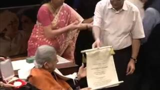 Veteran Bollywood actor conferred with India