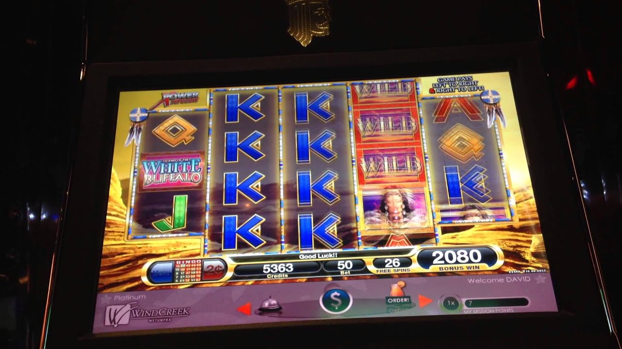 White Buffalo Slot Machine