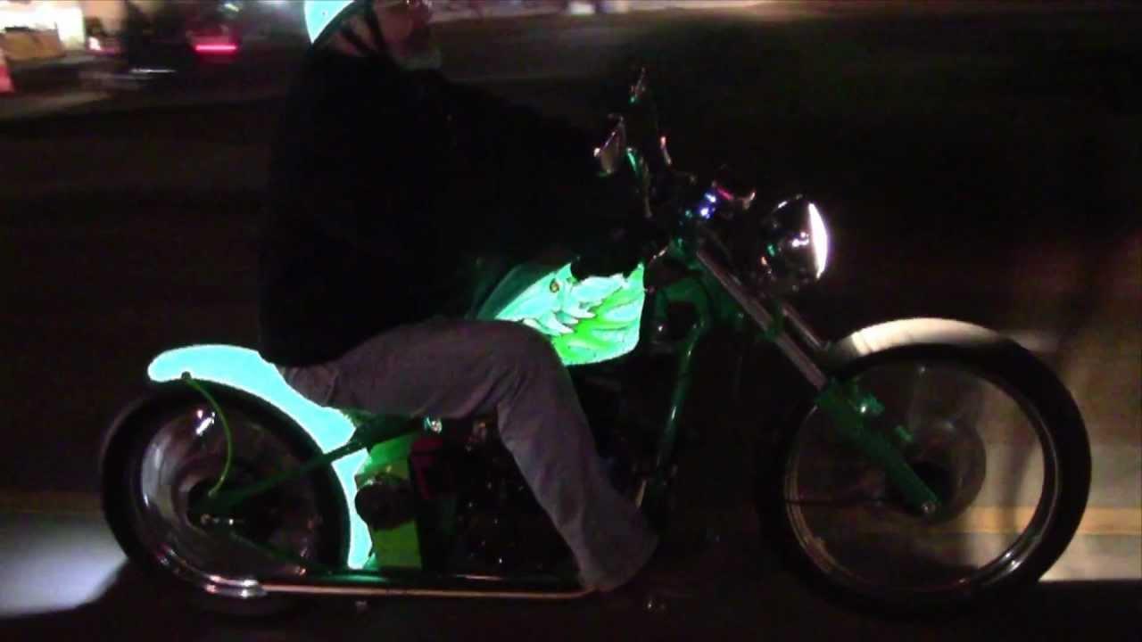 Lumilor Dragon Bike Night Ride Youtube