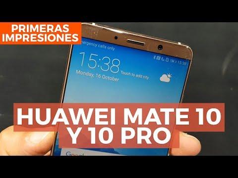 Huawei Mate 10: Primeras impresiones desde Munich con @jmatuk
