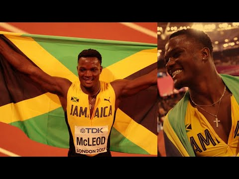 How Omar McLeod Won the 110m Hurdles Gold at the World Championships