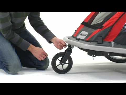 croozer 525 strolling and cycling conversion kit installation rh youtube com