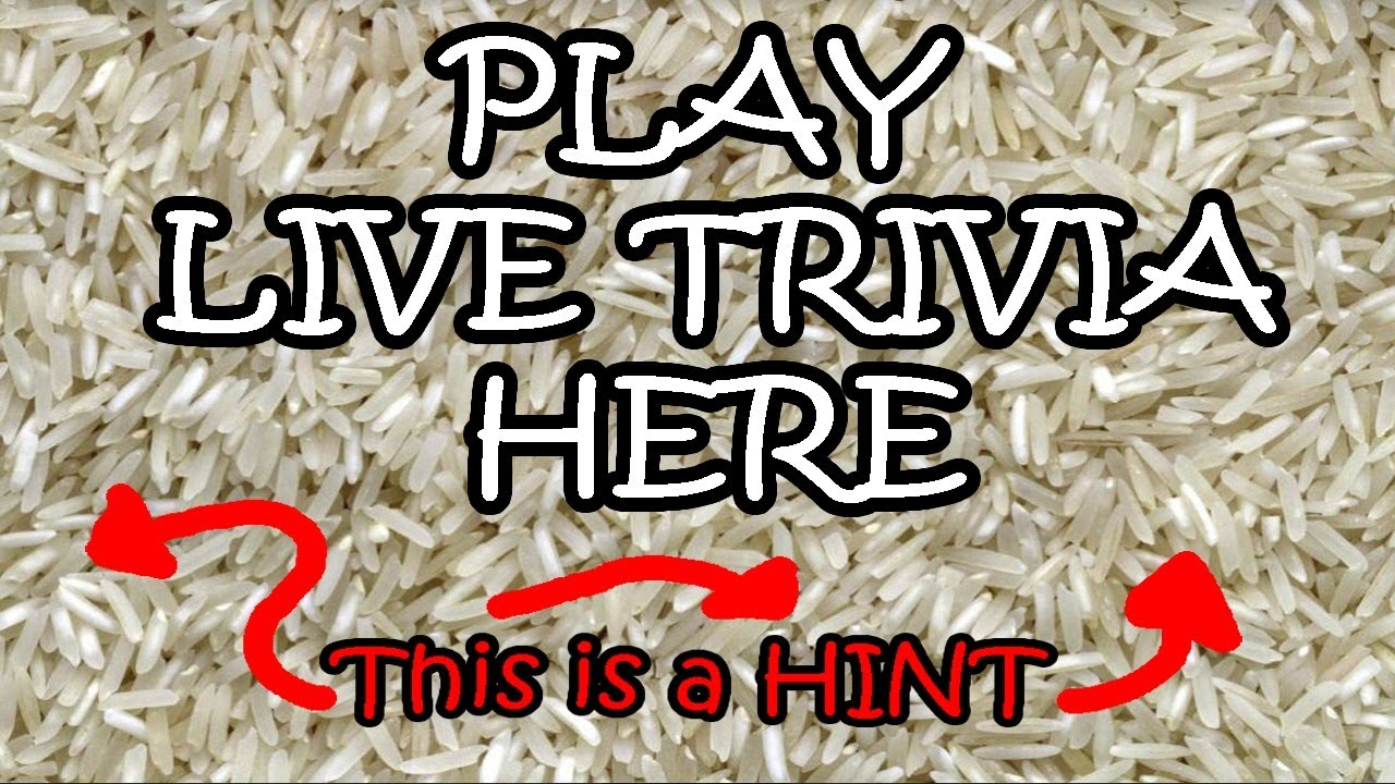 PLAY Live Trivia HERE - General Knowledge - 7.7.20