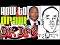 How To Draw A Quick Caricature Dr. Dre