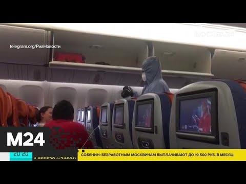 В Шереметьево приземлился рейс из Нью-Йорка - Москва 24