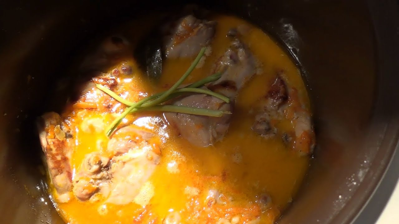 Куриные бедрышки с подливкой рецепт с фото
