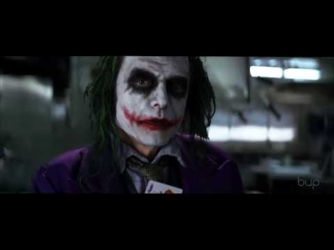 Tommy Wiseau as the Joker in The Dark Knight