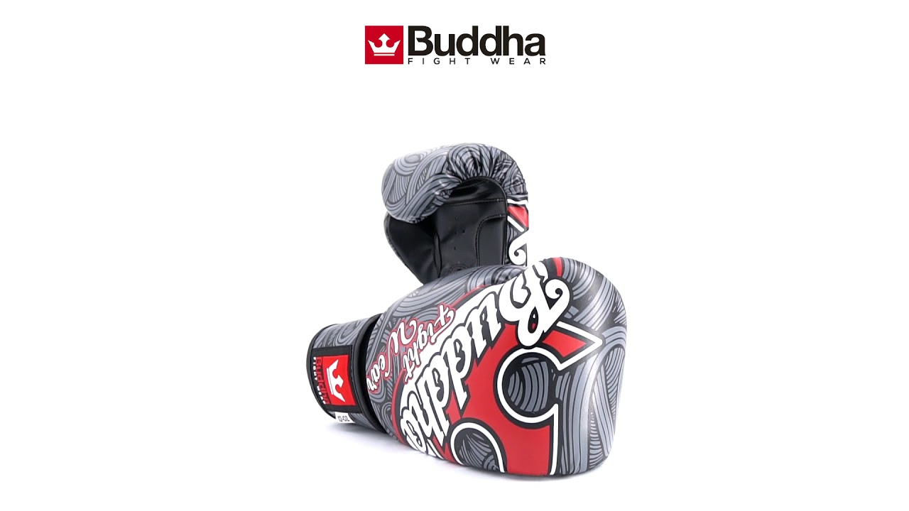 e3201aab9 Guantes de Boxeo Muay Thai Kick Boxing Fantasy Tattoo. Buddha Sports