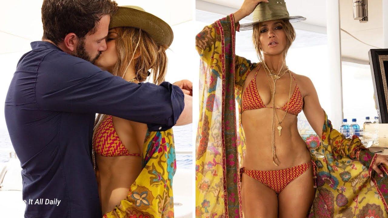 Jennifer Lopez Celebrates 52nd B-Day Smooching Ben Affleck on a ...