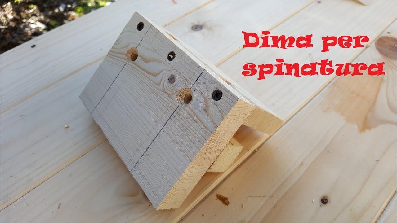Guida dima per spinatura autocentrante diy youtube for Dima per spine legno fai da te
