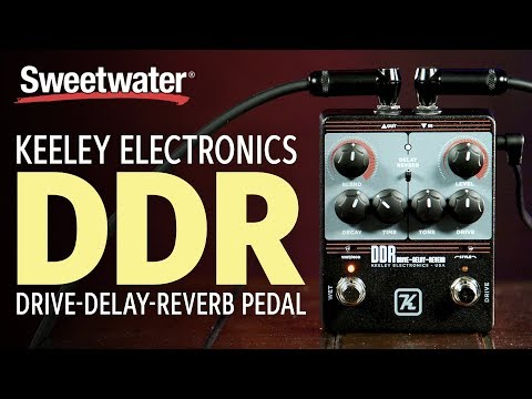 Keeley Electronics DDR Drive/Delay/Reverb Effects Pedal Demo