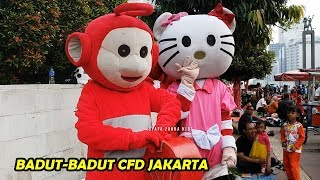 Dibalik layar Badut badut lucu CFD Jakarta