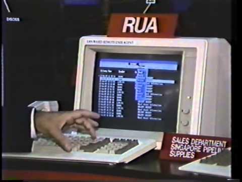 Data General Commserver Asia Telecom 1989 Singapore