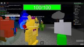 Fnaf World and Undertale on roblox
