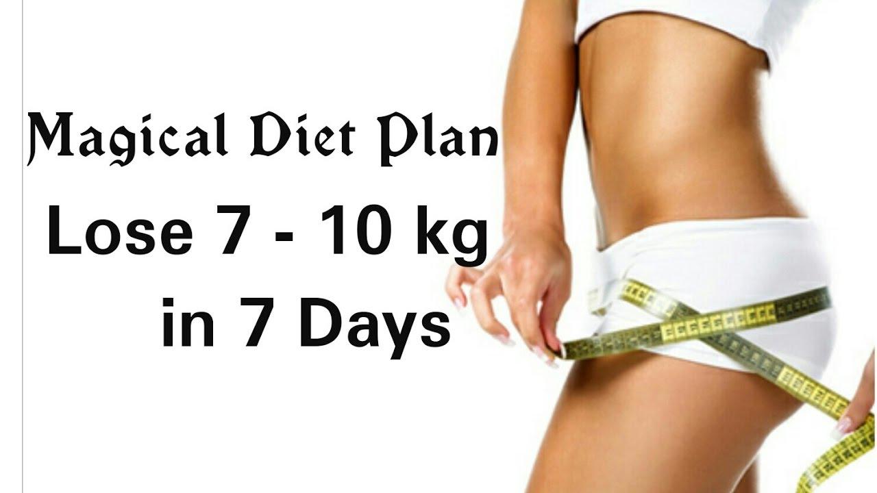 lose 10 kg diet plan