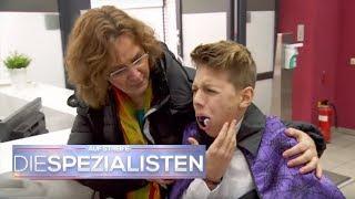 Zaubertrick Fail: Billardkugel in den Mund geschoben! | Auf Streife - Die Spezialisten | SAT.1 TV