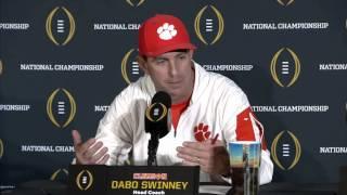 1/11: COACH SWINNEY On Alabamas Onside Kick