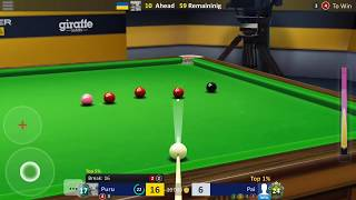MUST WATCH - Maxi in 1000th game won - Snooker Stars screenshot 2