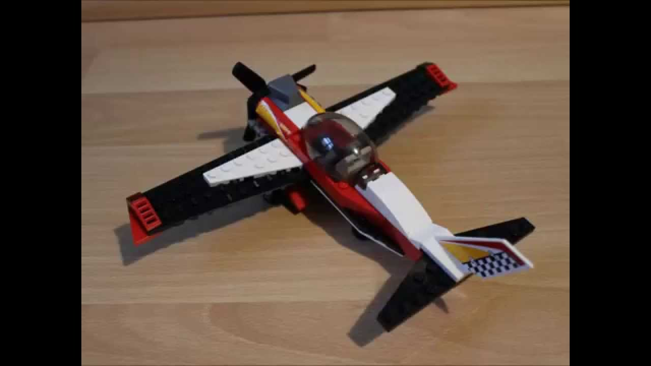 Lego Kleines Flugzeug Bauanleitung Lego Airplane Tutorial 60019