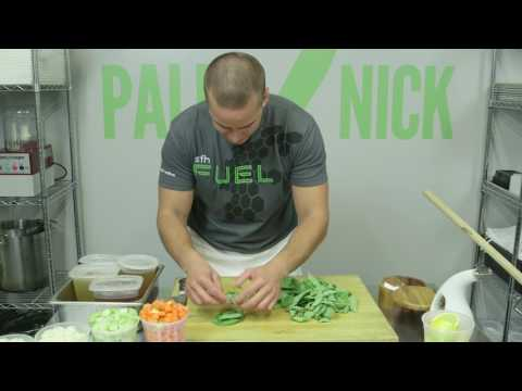 Paleo Potager Lemon Ginger Chicken Soup - Paleo Cooking with Nick Massie