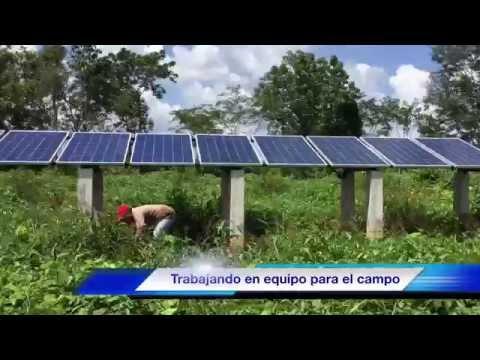 Bombeo solar 10 Hp para sistema de riego por aspersión