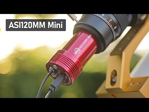 My New Autoguiding Camera (ZWO ASI120MM Mini) for PHD Guiding
