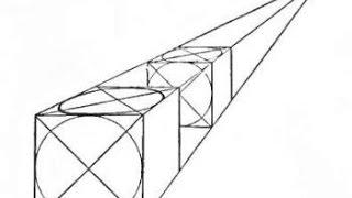 Уроки скульптуры и рисунка: куб, цилиндр, построение