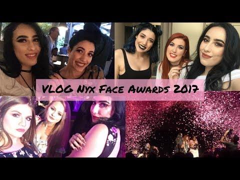 VLOG a Milano per i Nyx Face Awards 2017   robertavixen
