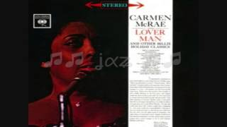 Carmen McRae / I Cried for You (Now It