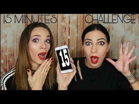Našminkaj se za 15.minuta(full make up challenge) ft. Sofija Grijak